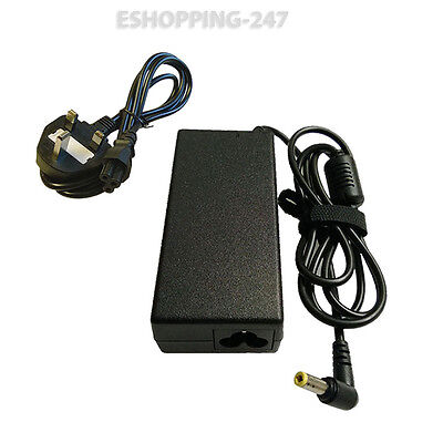 19v 3.42a For Toshiba Equium P200d-139 L20-197 Laptop Charger Power Cord D129 • 14.93£