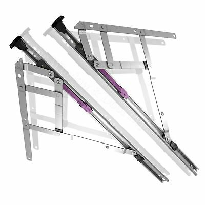 Fire Egress Escape Easy Clean Window Hinges UPVC Double Glazing Friction Stays • 8.53£