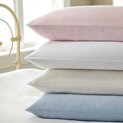 Love2Sleep 100% BRUSHED COTTON THERMAL FLANNELETTE FITTED SHEET • 8.49£