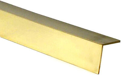 £8.55 • Buy Albion Alloys A2 - 2mm X 2mm X 305mm Long 90' From Solid Brass Angle New Pack