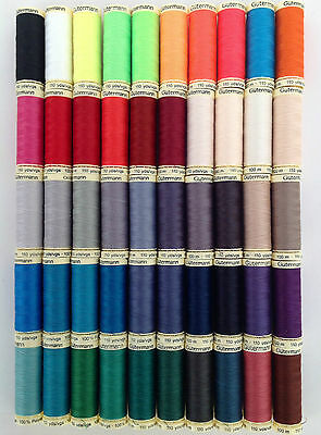 Gutermann Sew All 100mts 100% Polyester Sewing Thread Hand And Machine Suitable • 2.60£