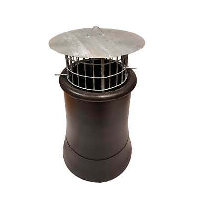 £22.99 • Buy Chimney Bird Cage Guard With Rain Cap Anti-Down Draught Fire Roof Cowl 2 Sizes