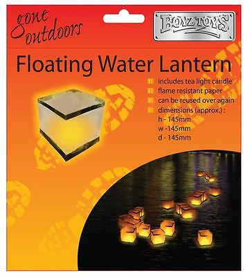 BoyzToys RY417 Gone Outdoors Chinese Floating Water Lantern Assorted Colours New • 4.39£