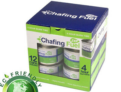 £15.50 • Buy PACK OF 12 CHAFING DISH FUEL GEL CANS Is Approx  3.5 HOUR BURNING TIME EACH