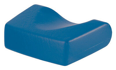 Sunbed Pillow Foam Head Rest For Lie Down Sunbeds Easy To Clean BLUE • 25£