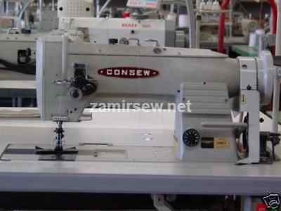 $3299 • Buy CONSEW 339RB-4  TWO NEEDLE WALKING FOOT SEWING MACHINES  Complete W/Servo Stand
