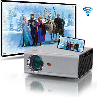 AU295.99 • Buy 1080P FULL HD Home Theater Mulitimedia 4000 Lumens USB HDMI LED Movie Projector