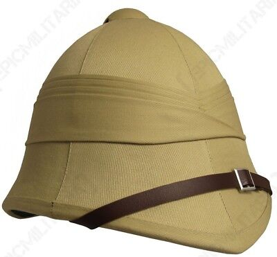 British Army Tropical Pith Helmet - Repro Explorer Rorke's Drift Colonial Hat  • 20.95£