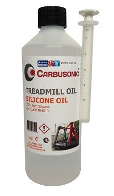 AU32.14 • Buy Treadmill Silicone Oil Lubricant - 250 Ml, Extends Your Treadmills Belt Life.