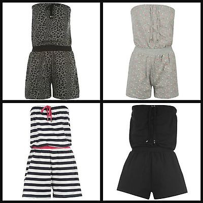 £12.49 • Buy Ladies Womens Playsuit Jump Suit Jumpsuit Holiday Shorts All-in-one Set