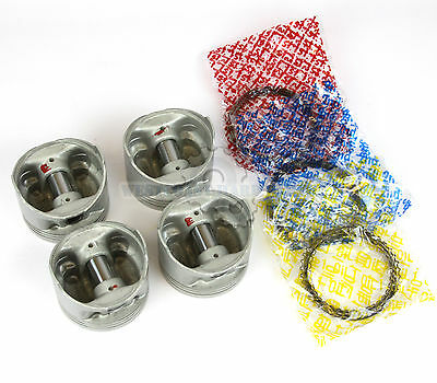 AU127.06 • Buy 85-87 TOYOTA Corolla GTS MR2 1.6L 4AGEC 4AGELC AFTERMARKET Pistons & Rings Kit