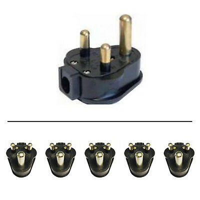 £15.47 • Buy 5 X 15 Amp Permaplug Rubber Plug 15A For Stage Theatre Lighting