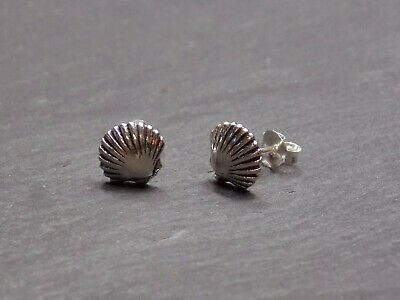 Pair Of Solid 925 Sterling Silver Celtic Triskele Stud Earrings Triangle 6mm • 5.95£
