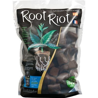 £19.95 • Buy Root Riot 100 Cube Refill Bag Growth Technology - For Seedlings/Cuttings Roots