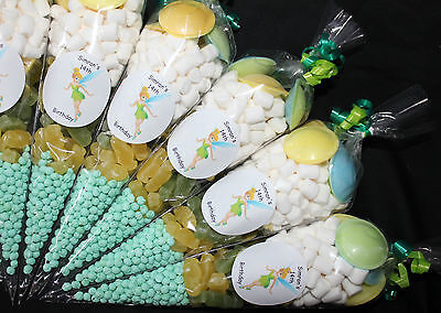 £1.35 • Buy Party Bags Tinkerbell Themed Pre Filled Goody Cones Birthday Sweets Personalised