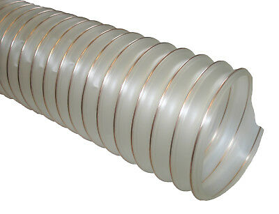 PU Flexible Ducting Hose  Ventilation,Woodworking, Fume&Dust Extraction,  • 11.70£