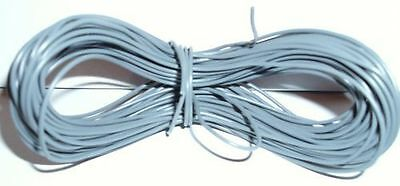 Model Railway Peco Or Hornby Point Motor Etc Wire 1 X 25m Roll 7/0.2mm 1.4A Grey • 5.22£