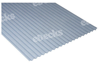 £157.99 • Buy 0.8mm Translucent Mini Plastic Corrugated Roofing Sheet, 662 Wide, Corolux