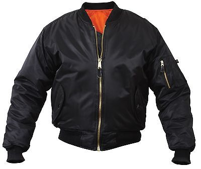 $44.99 • Buy MA-1 Military Type Flight Jacket USAF Bomber Air Force Tactical Jackets XS - 8XL