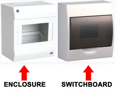 AU28.59 • Buy Enclosure Switch Board Distribution Box Switchboard Dinrail For MCB RCD RCBO