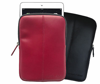 $14.98 • Buy Wilsons Genuine Leather Padded Protective Slip-on Sleeve Case For 7  Tablet IPad