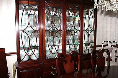 $6500 • Buy THOMASVILLE MAHOGAHY-Dining Table/8 Chairs/China Cabinet/Sideboard-Made In USA