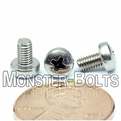 $3.62 • Buy M3 X 5mm - Qty 10 - Stainless Steel Phillips Pan Head Machine Screws DIN 7985 A