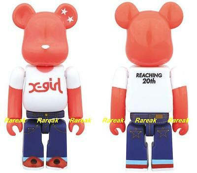 $34.99 • Buy Medicom Be@rbrick X-girl 20th Anniversary 100% Xgirl Shocking Pink Bearbrick 1pc