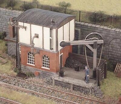 Ratio 540 Locomotive Servicing Depot, Water Tower, Hoist, '00' Gauge Kit T48P • 28.99£