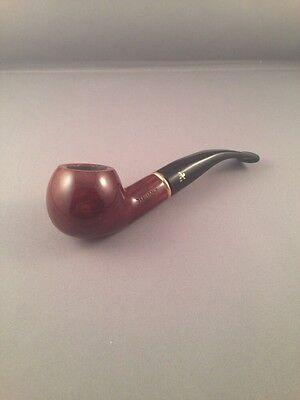 AU58.85 • Buy ADVENTURE SMOKING PIPE 9mm FILTER Pipe - Brown Bent Stem 371