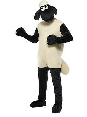 £53.99 • Buy Shaun The Sheep Fancy Dress Costume Black & White Animal Outfit Wallace & Gromit