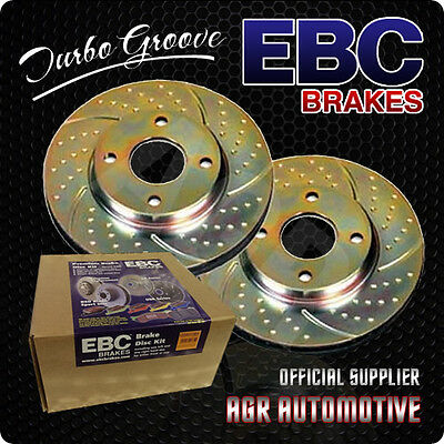 $203.29 • Buy Ebc Turbo Groove Front Discs Gd747 For Toyota Levin 1.6 1995-00