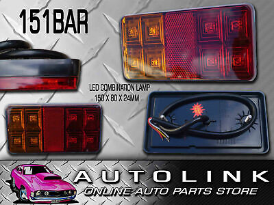 AU28 • Buy LED REAR COMBINATION LAMP TRAILER LIGHT STOP TAIL INDICATOR SUBMERSIBLE X1
