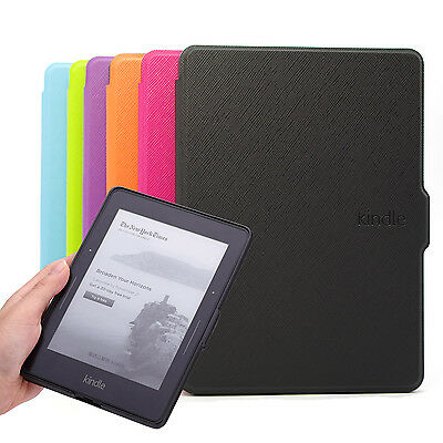 AU12.99 • Buy Kindle Voyage Smart Case Cover -- The Thinnest And Lightest PU Leather Case