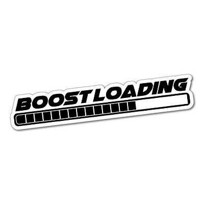 AU5.99 • Buy BOOST LOADING Sticker Decal JDM Car Drift Vinyl Funny Turbo #5809J
