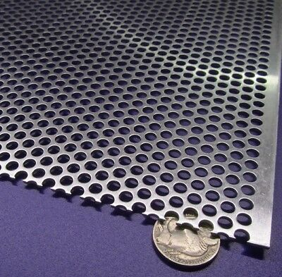 £126.53 • Buy 3003 Aluminum Perforated Sheet .063  Thick X 36  X 40 , .187  Hole Dia.