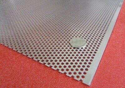 £477.86 • Buy 6061 Aluminum Perforated Sheet .063  Thick X 36  X 40 , .125  Hole Dia.