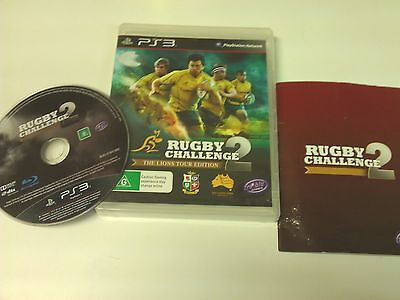 AU27 • Buy Wallabies Rugby Challenge 2 II The Lions Tour Edition PS3 Playstation 3