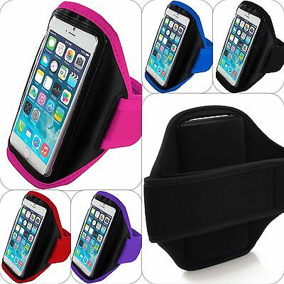 Sports Armband Case Phone Holder Gym Running Jogging Strap For Various Phones • 4.85£