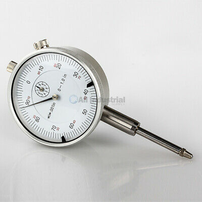 $15.75 • Buy 1  Dial Indicator 0.001  Graduation 0-100 Reading Lug Back White Face