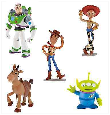 Bullyland Disney Toy Story Figures Figurines Toys Cake Topper Toppers • 7.95£