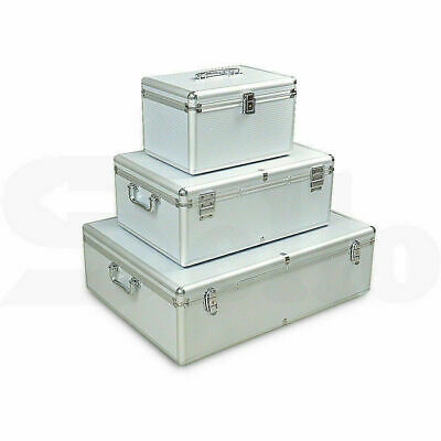 AU29.95 • Buy Aluminium CD DVD Bluray Storage Box Case - Holds 80, 120, 200, 600, 1000 Discs