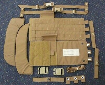 $34.95 • Buy New Usmc Modular Tactical Vest Mtv Scalable Plate Carrier Upgrade Kit All Sizes