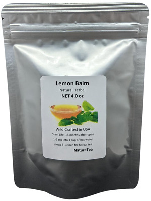 Organic Lemon Balm Tea - USDA Certified Organic, Domestically Harvested, • 6.57£