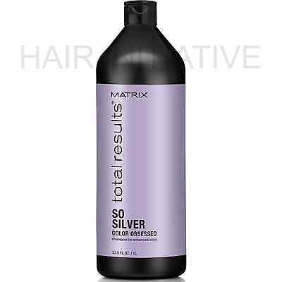 £18.69 • Buy Matrix NEW Total Results Color Obsessed So Silver Shampoo 1000ml