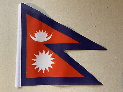 £2.89 • Buy NEPAL BUDGET FLAG Small 15cm X15cm GREAT FOR CRAFT PROJECTS CRAFTS NEPALESE