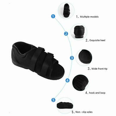 Breathable Post Op Shoe Medical Surgical Shoe Healing Universal Adjustable Nhs • 12.99£