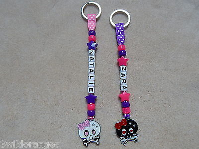 Personalised Bag Tag Bagtag Keyring School Monster High • 4.35£