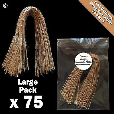 £3.60 • Buy 75 X Natural 1-Ply Rustic String/Twine/Hessian For Wedding/Gift/Crafts Hang Tags