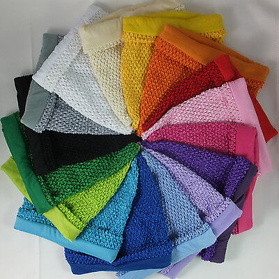 LINED Crochet Tube Top Tutu Supplies • 3.75£